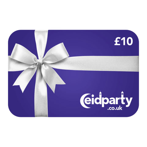 Eid Party Gift Card