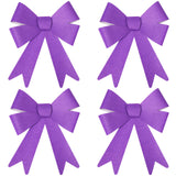 Pack of 4 Medium Glitter Eid Gift Bows (Various Colours)
