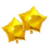 Pack of 2 Gold Star Eid & Ramadan Foil Balloon (45cm)
