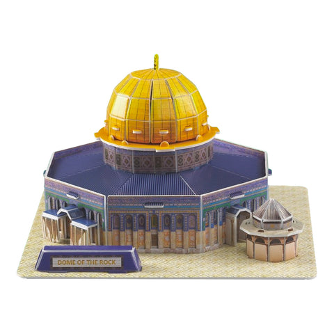 Masjid Qubbat al-Sakhrah Dome of the Rock Mosque 3D Puzzle