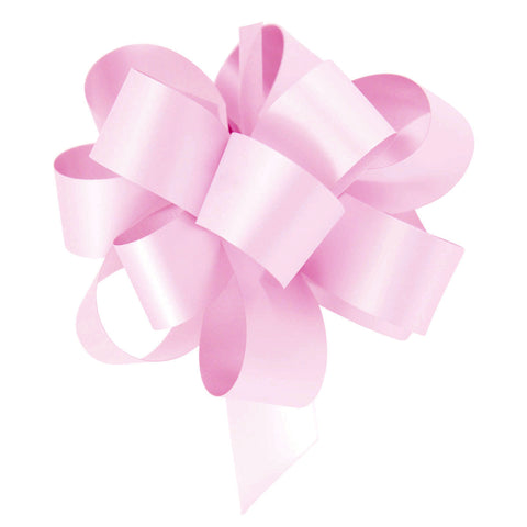 Pack of 10 Pink Pull Bow Ribbons