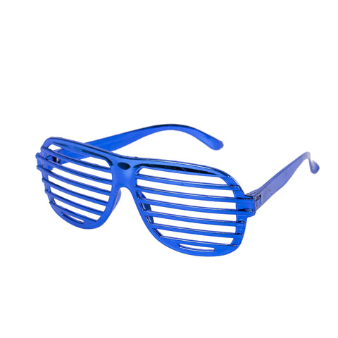 4a3f53a629b Pack of 6 Metallic Shutter Shade Novelty Glasses – Eid Party