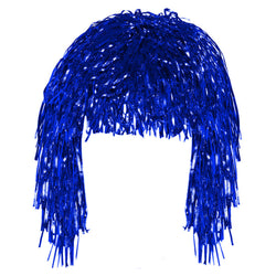 Blue Tinsel Eid Party Dress Up Wig