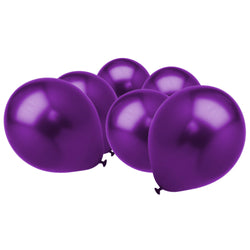 Metallic Cadbury's Purple Latex Eid Party Balloons (25 Pack)