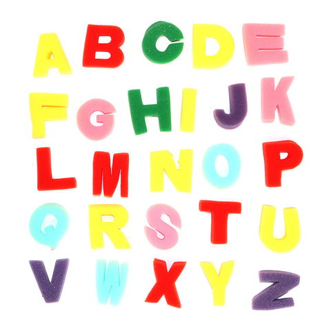 Pack of 26 Foam Sponge Eid Arts & Crafts Alphabet Capital Letters
