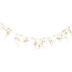 Metallic Gold Artificial Berry Eid Decoration Garland - 2 meters