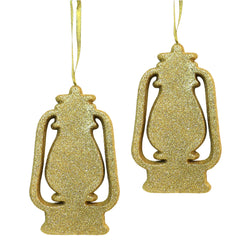 Gold Glitter Foam Lantern Eid & Ramadan Hanging Decorations