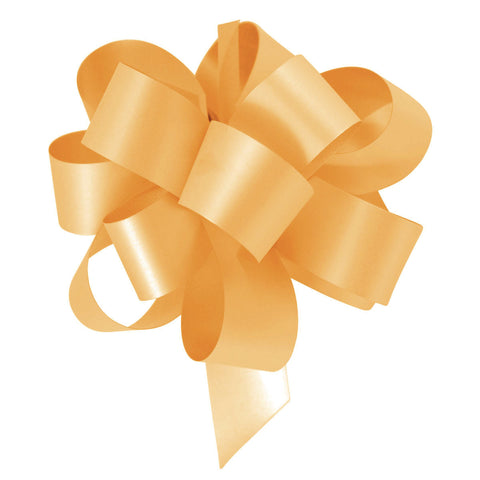 Gold Eid Gift Wrapping Pull Bow Ribbons (10 Pack)