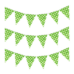 Green Polka Dot Eid & Ramadan Celebration Bunting
