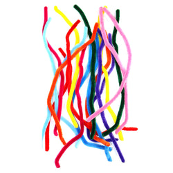 Pack of 18 JUMBO Multicolour Eid Arts & Craft Pipe Cleaners