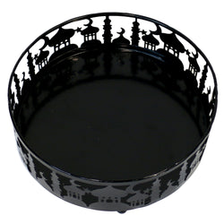 Large (21cm) Black Metal Eid Mubarak Ramadan Cut Out Cake / Treat Tins
