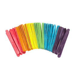 Regular Size Multicolour Wooden Lollipop Sticks - Ramadan Eid Arts & Craft