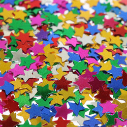Multicolour Metallic Star Shaped Eid Table Confetti