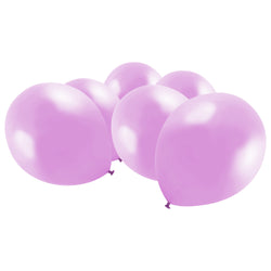 Metallic Light Pink Latex Eid Party Balloons (20 Pack)