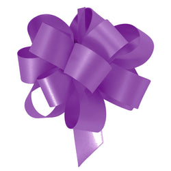 Cadbury's Purple Eid Gift Wrapping Pull Bow Ribbons (10 Pack)