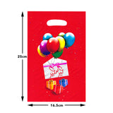 Pack of 10 Red Gift & Balloon Eid & Ramadan Party Bags