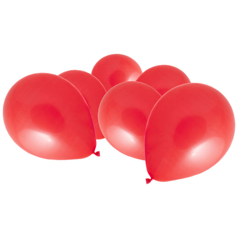 Metallic Red Latex Eid Party Balloons (20 Pack)