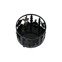 Small (10cm) Black Metal Eid Mubarak Ramadan Cut Out Cake / Treat Tins