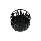 Set of 3 Black Metal Eid Mubarak Ramadan Cut Out Cake / Treat Tins - Small/Medium/Large