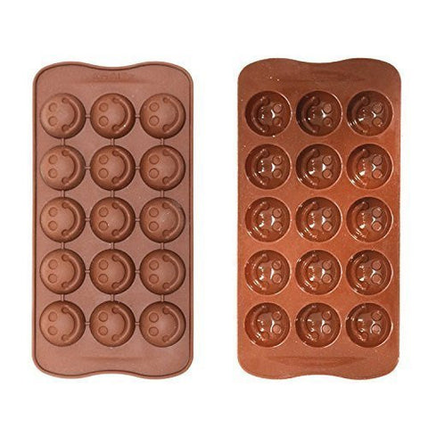 Eid Chocolate / Ice Mould - Smiley Face