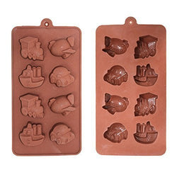 Eid Chocolate / Ice Mould - Vehicles
