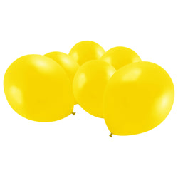 Metallic Yellow Latex Eid Party Balloons (20 Pack)