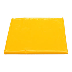 Plain Yellow Eid Party Plastic Table Cover