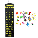 Black Kaaba Felt Ramadan Advent Calendar