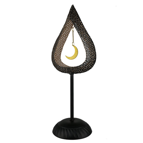 Metal Table Centrepiece - Teardrop Design
