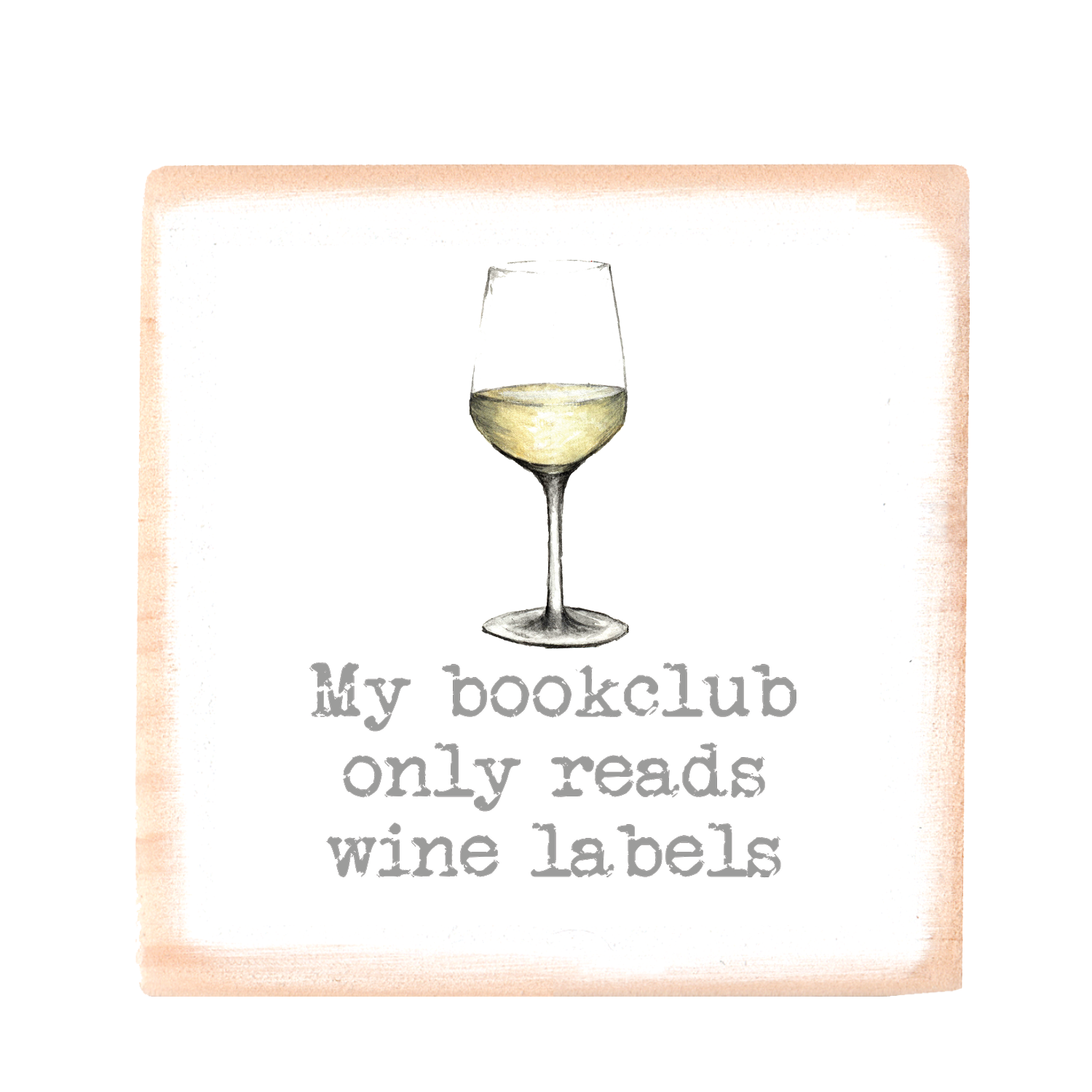 book club white
