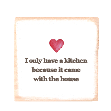 kitchen with heart