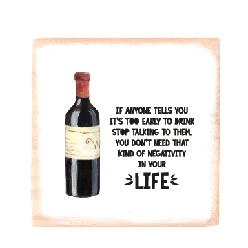 negativity wine bottle
