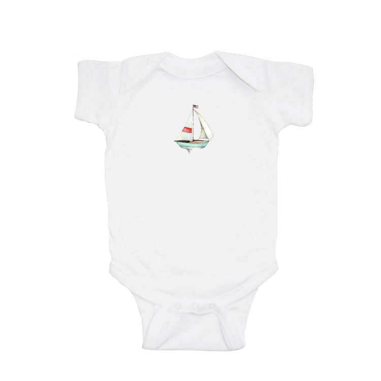 sailboat seafoam