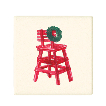 christmas guard chair