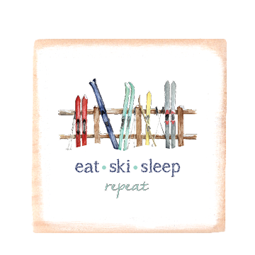 eat ski sleep