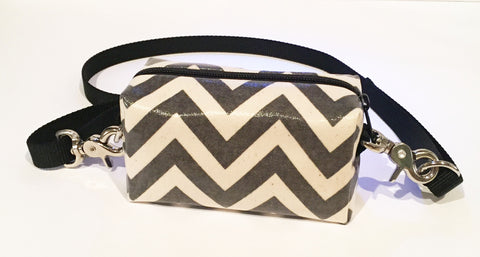 grey chevron Doggy Ditty