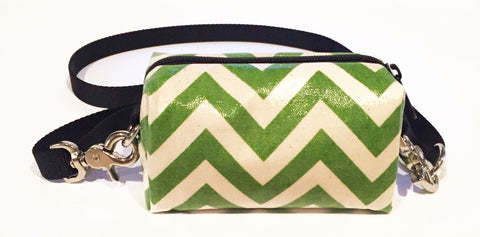 Lime Green Chevron Doggy Ditty