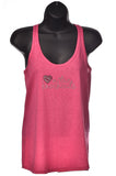 Pink Cross-back Bling Tank