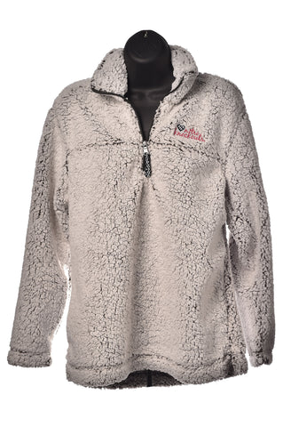 Sherpa Frosty Grey 1/4 zip Pull-over
