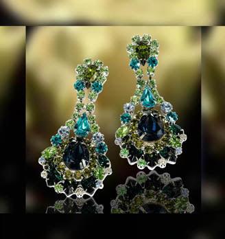#13435 Mountain Reflection Earrings - Albert Weiss Collection