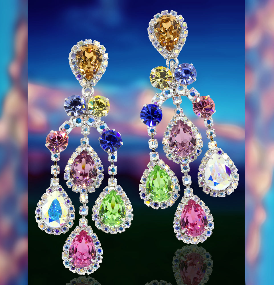 #15855 - Spring Shower Earrings - Albert Weiss Collection