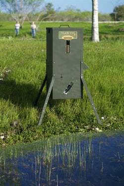 70 lb Fish Feeder with Adjustable Legs