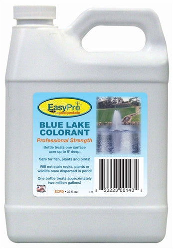 EasyPro Concentrated Blue Pond Dye, 1 quart *Discount 12+*