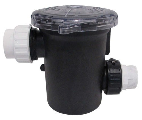 90 cubic inch optional strainer basket, 2