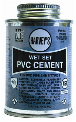 Wet Set PVC Glue, 8 oz.