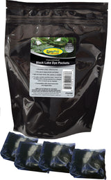 Concentrated Black Pond Dye, Dry, 4 Pack
