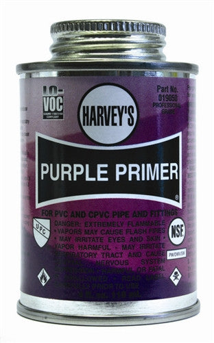 Purple PVC Primer, 8 oz.