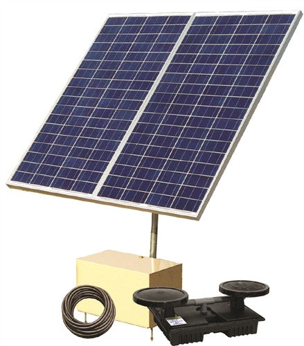 Direct Sunlight Solar Aeration System, 4 Diffusers