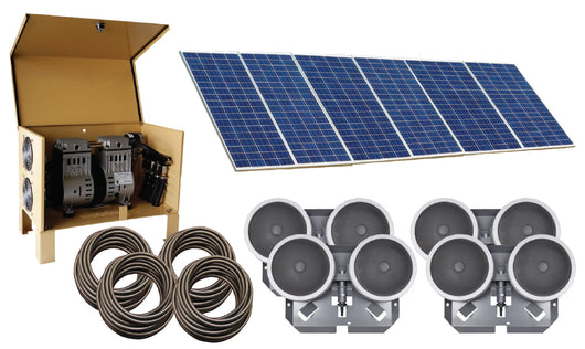 Deep Water Solar Aeration System, 4 Diffusers