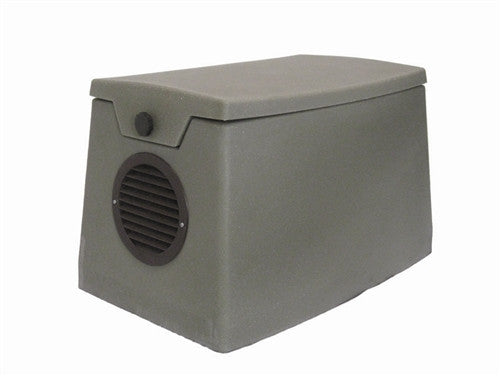 Weatherproof Poly Cabinet with 115 volt Fan